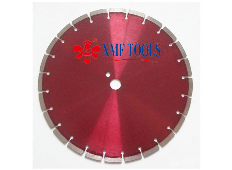 "14 "" 16 "" Laser Welded  Saw Blade For Granite  Concrete dutting high accuracy"