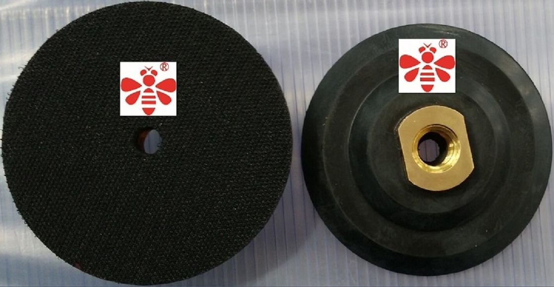4 Inch Diamond Polishing Pads For Concrete Countertops  ,  Sandstone  Rubber Polishing Pad