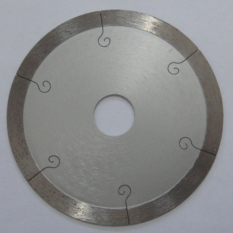 9 Inch Continuous Rim Saw Blade For Porcelain Tile , 350mm Diamond Cutting Blades