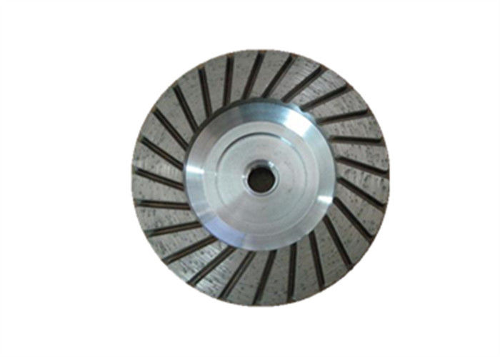 Size 4.5'' Diamond Cup Wheel Turbo Cup Wheel With Aluminium Base
