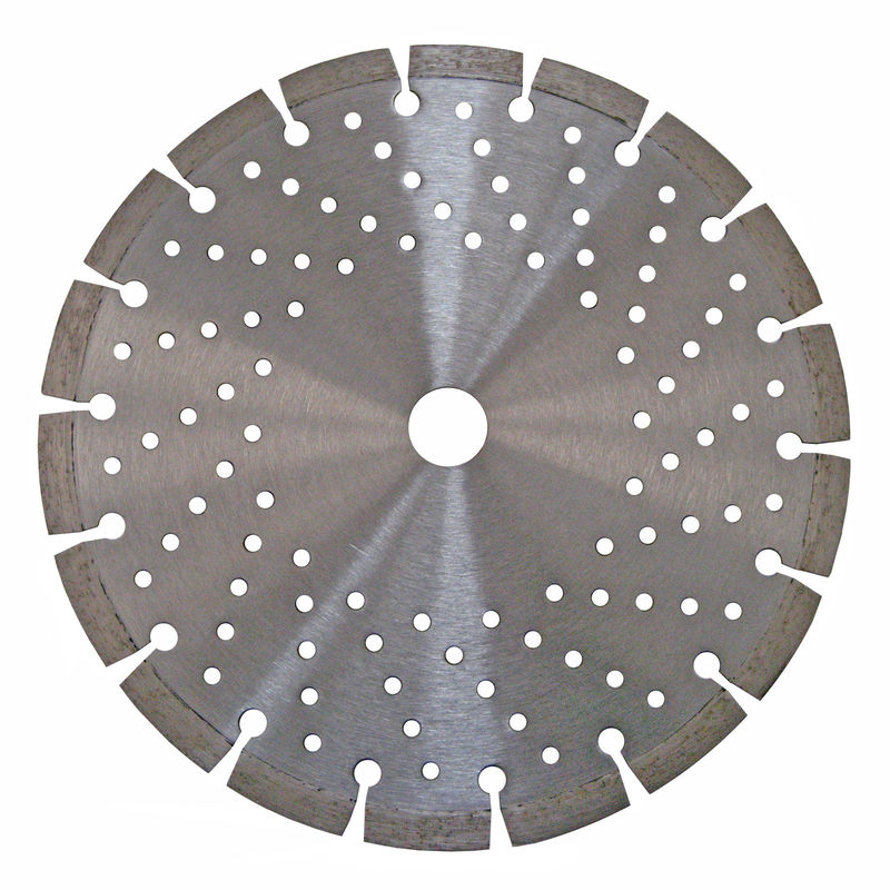 Continuous Rim Combo Laser Welded Saw Blade With Long Life Service Time