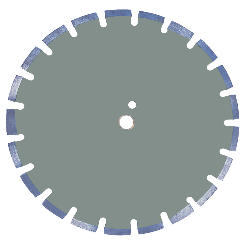 12 Inch Hot Pressed Combo Laser Welded Saw Blade For Concrete Narrow Turbo